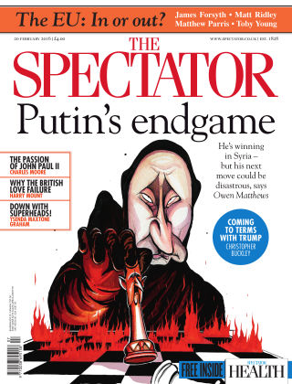 The Spectator 20th February 2016