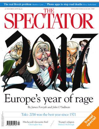 The Spectator 31st December 2016