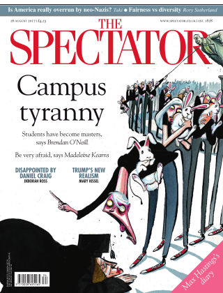 The Spectator 26th August 2017