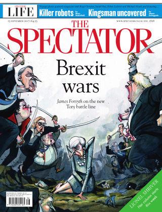 The Spectator 23rd September 2017