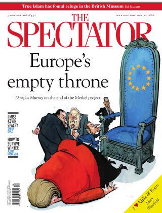 The Spectator 3rd November 2018