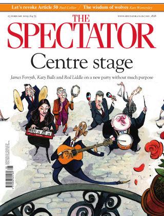 The Spectator 23rd February 2019