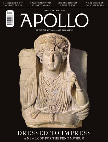 Apollo Magazine January 27, 2018 00:00