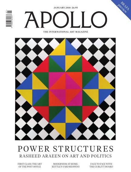 Apollo Magazine January 01, 2018 00:00