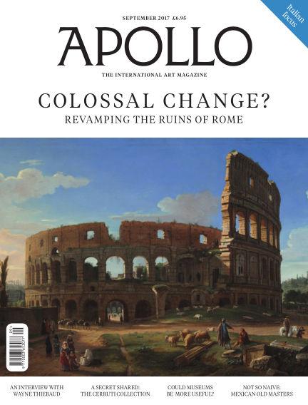 Apollo Magazine September 01, 2017 00:00