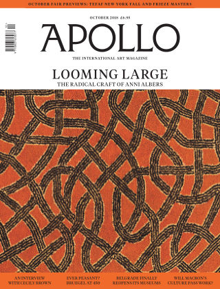 Apollo Magazine october 2018