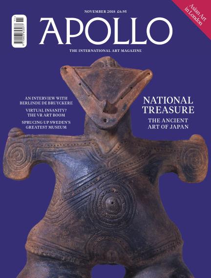 Apollo Magazine October 27, 2018 00:00