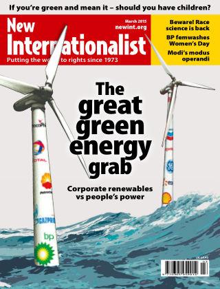 New Internationalist March 2015