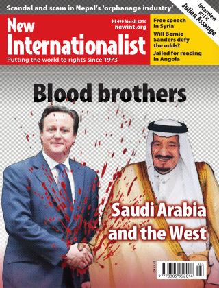 New Internationalist March 2016
