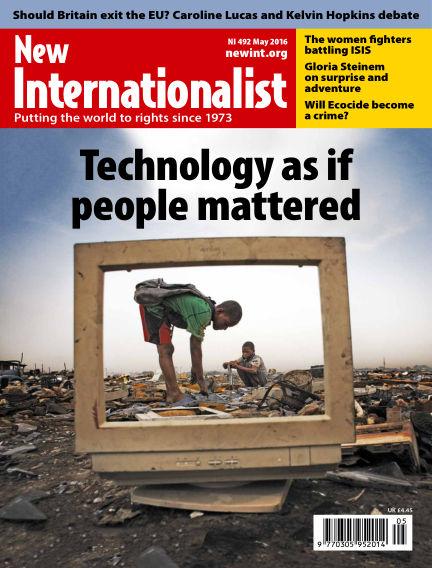 New Internationalist April 20, 2016 00:00