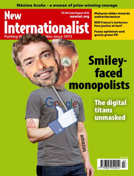 New Internationalist June 29, 2016 00:00