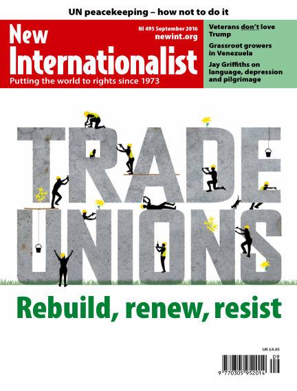 New Internationalist August 24, 2016 00:00