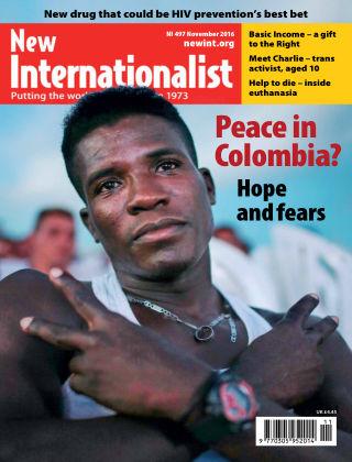 New Internationalist November 2016