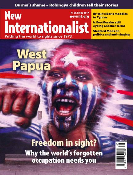 New Internationalist April 19, 2017 00:00