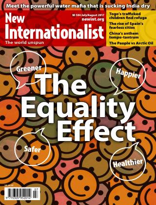 New Internationalist July/August 2017