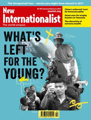 New Internationalist Jan/Feb 2018