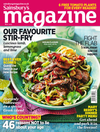 Sainsbury's Magazine May 2015