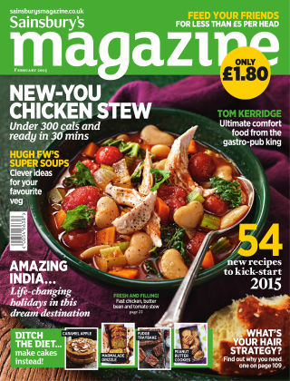 Sainsbury's Magazine February 2015