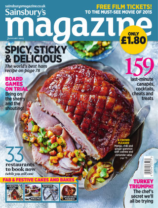 Sainsbury's Magazine January 2015