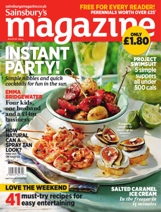 Sainsbury's Magazine August 2014