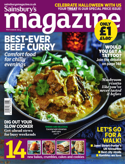Sainsbury's Magazine October 01, 2014 00:00