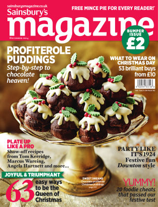 Sainsbury's Magazine December 2014
