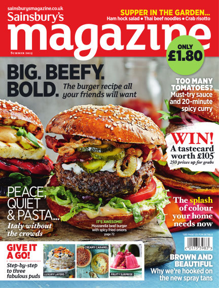 Sainsbury's Magazine July 01, 2015 00:00