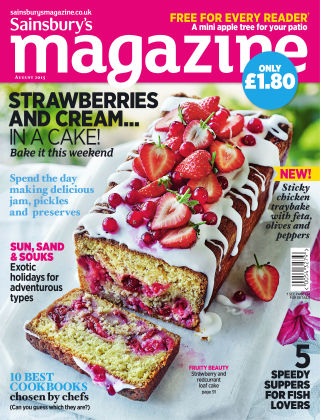 Sainsbury's Magazine August 2015