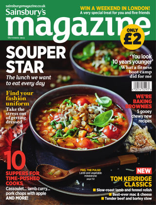 Sainsbury's Magazine October 2015