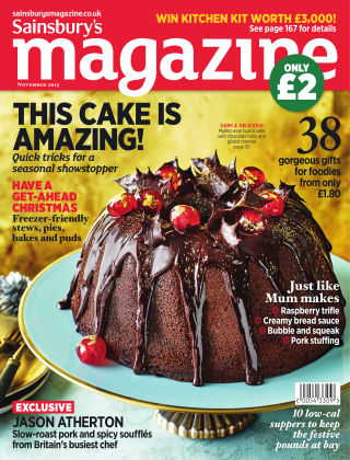 Sainsbury's Magazine November 2015