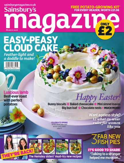 Sainsbury's Magazine March 02, 2016 00:00