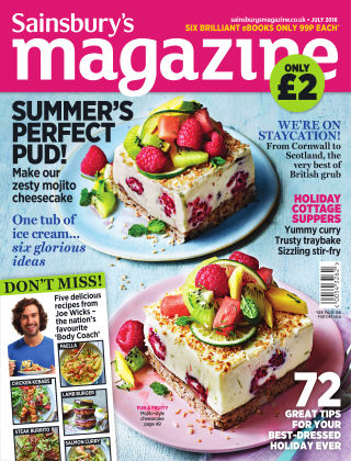 Sainsbury's Magazine July 2016