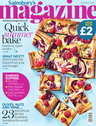 Sainsbury's Magazine August 2017