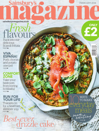 Sainsbury's Magazine February 2018