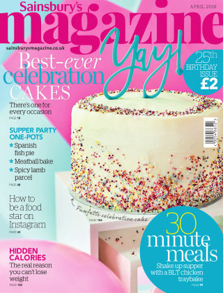 Sainsbury's Magazine April 2018