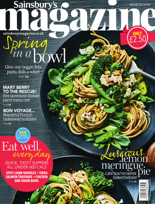 Sainsbury's Magazine March 2019