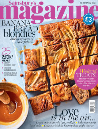 Sainsbury's Magazine February 2021