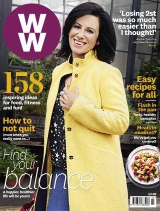WW Magazine (Weight Watchers reimagined) March 2019