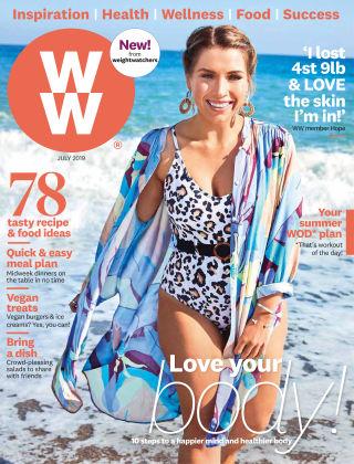 WW Magazine (Weight Watchers reimagined) July 2019