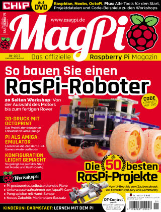 MagPi 01/2017