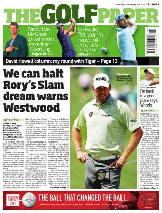 The Golf Paper  8th April 2015