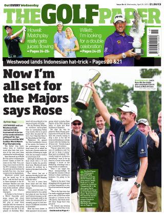 The Golf Paper  29th April 2015
