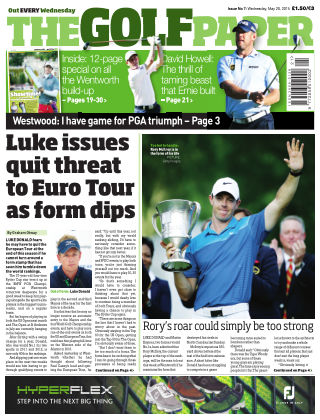 The Golf Paper  20th May 2015