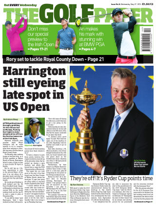 The Golf Paper  27th May 2015