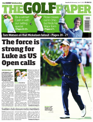 The Golf Paper  10th June 2015