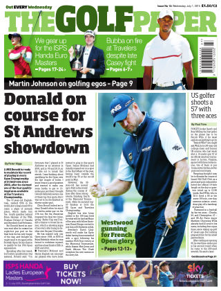 The Golf Paper  1st July 2015