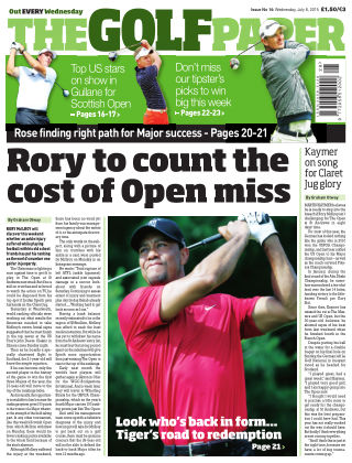 The Golf Paper  8th July 2015