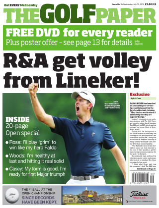 The Golf Paper  15th July 2015
