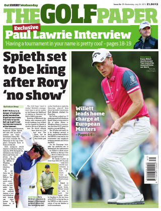 The Golf Paper  29th July 2015