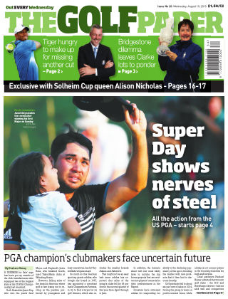The Golf Paper  19th August 2015